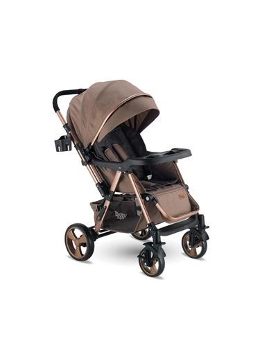 BabyHope Space Çift Yönlü Bebek Arabası-Bh3056 Kahve